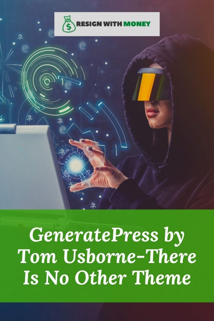 GeneratePress by Tom Usborne-There Is No Other Theme pin