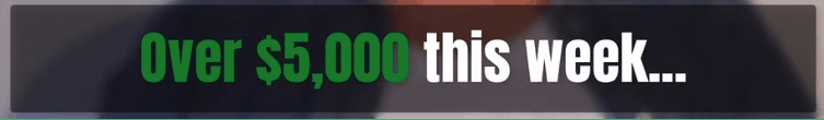 5000 in s week banner