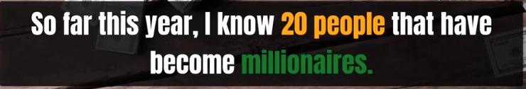 20 millionairs