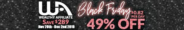 WA black friday logo