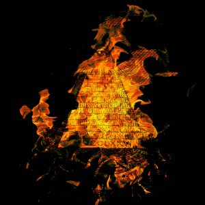 burning pyramid global financial crisis