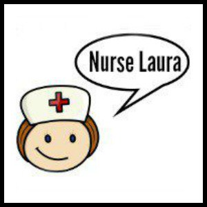 nurse laura cartoon face