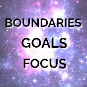 WORDS boundaries goals focu