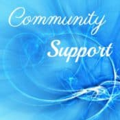 community support on blue