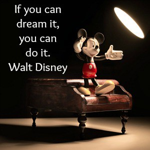 walt disney quote mikey mouse