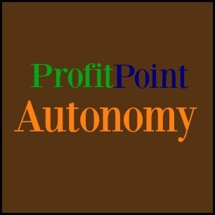 profit point autonomy homemade logo