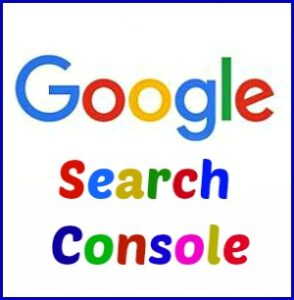 words google search console
