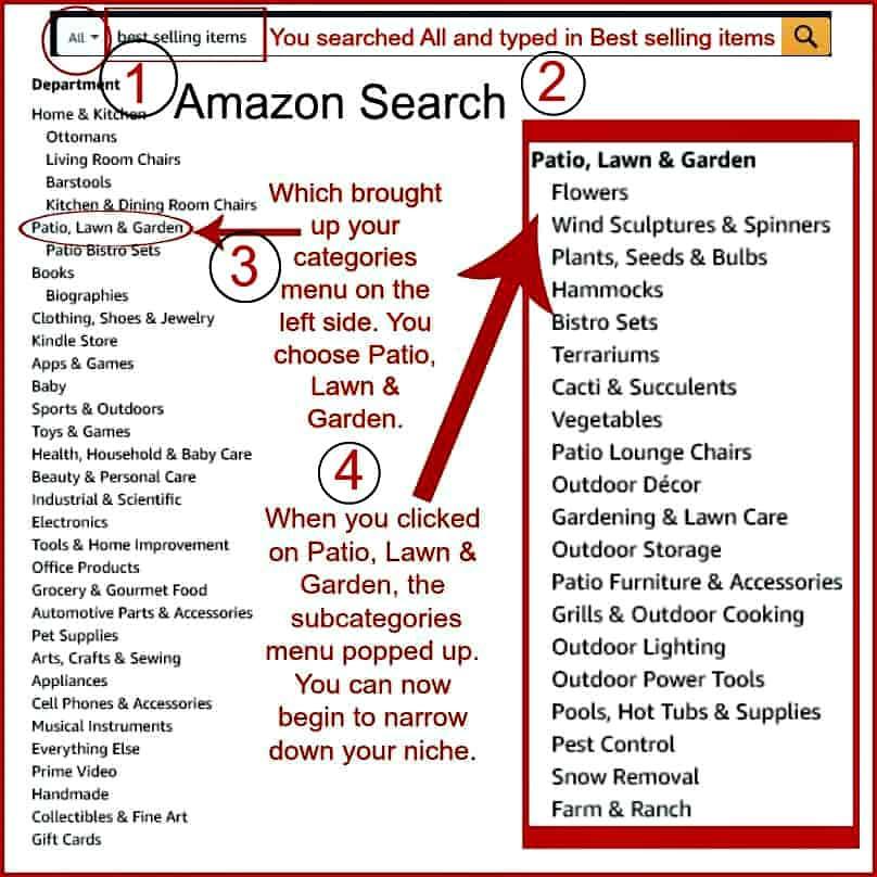 amazon search tutorial
