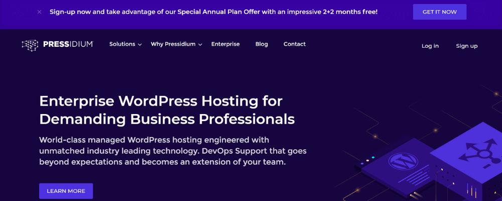 pressidium home page