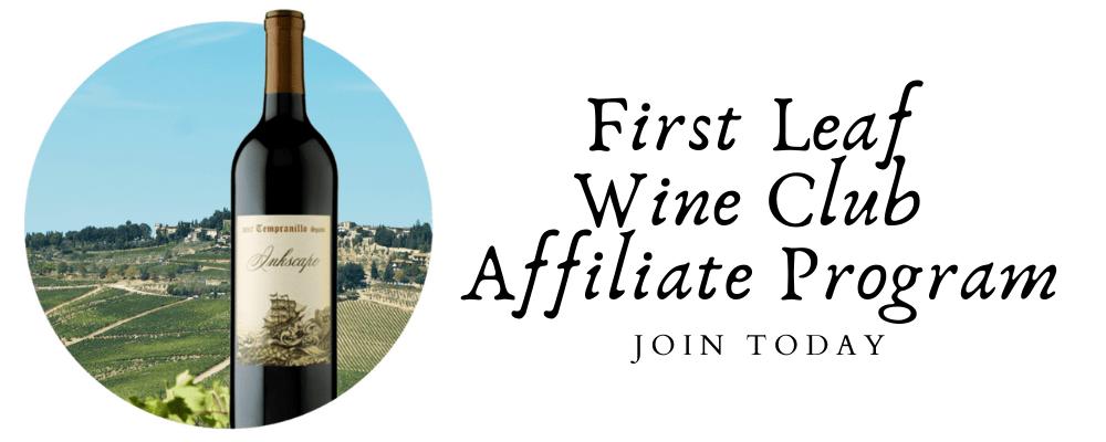 first leaf wine affiliate program
