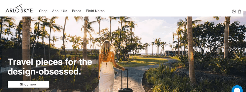 arlo home page