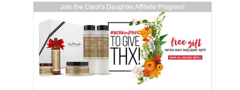 Carol's affiliate