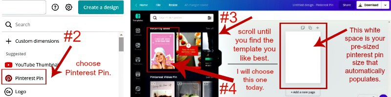 canva pinterest tutorial