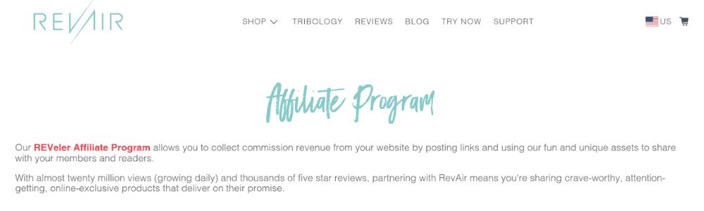 revair affiliate
