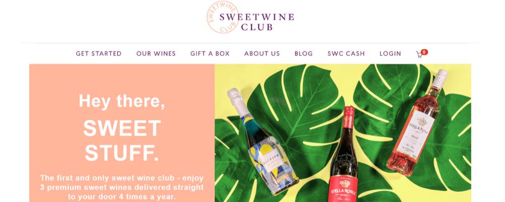 sweet wine club home page