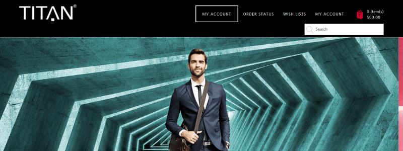 titan homepage