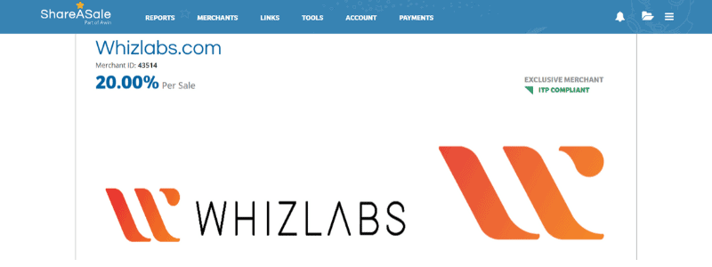whizlabs affiliate program