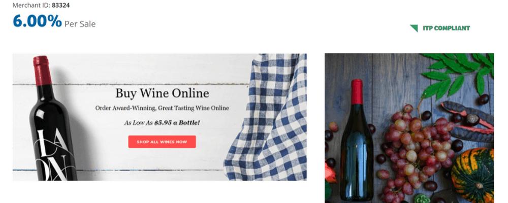 wine on sale affiliate