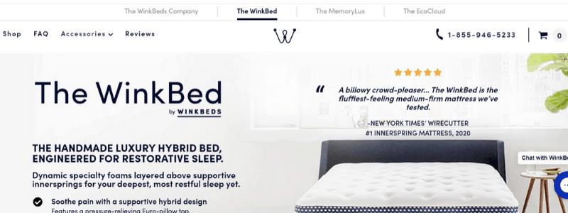 wink homepage