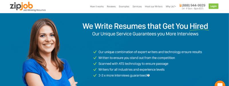 zipjob home page