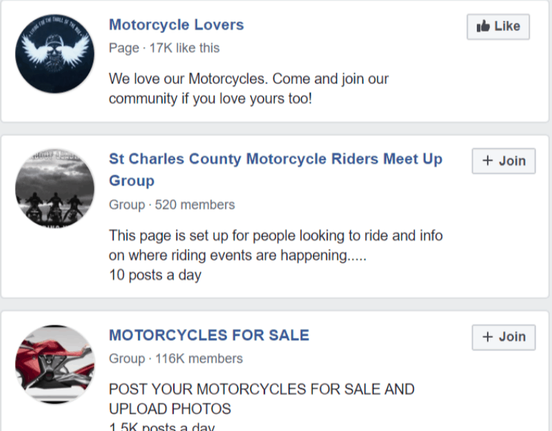 FB motorcycle join