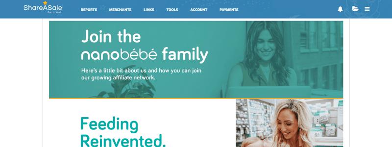 nanobebe affiliate program