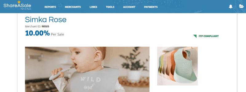 skima rose affiliate page