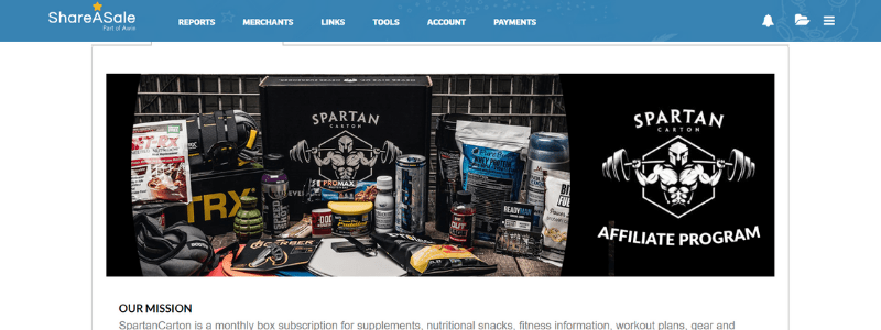 spartan affiliate page