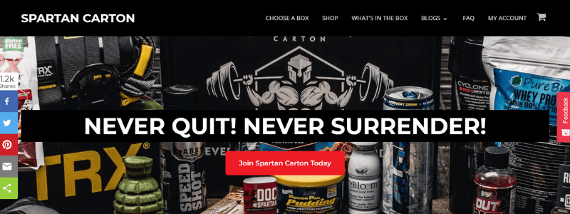 spartan home page