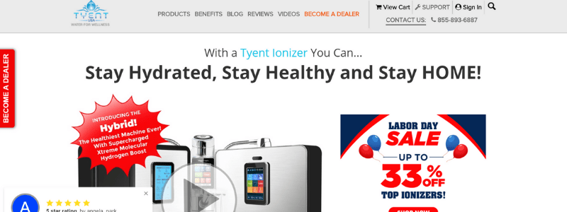 tyent home page