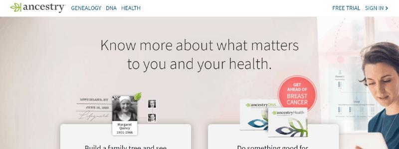 ancestry com home page