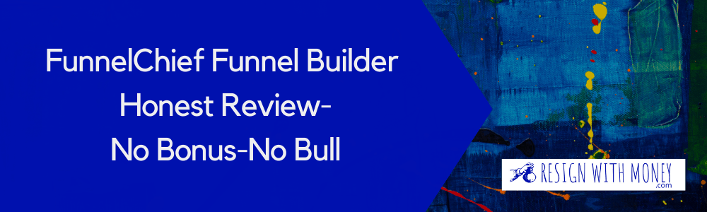 FunnelChief Funnel builder honest review feature image2
