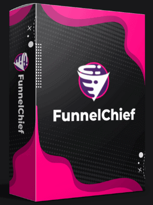 FunnelChief Funnel Builder Honest Review mock up of product