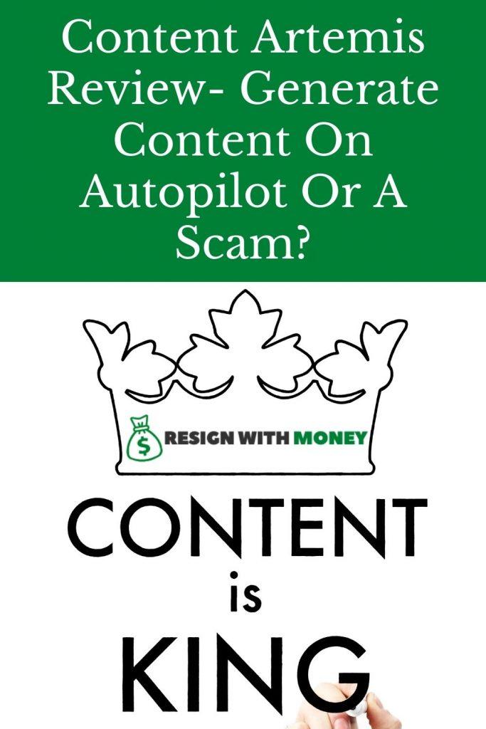 content artemis review pin