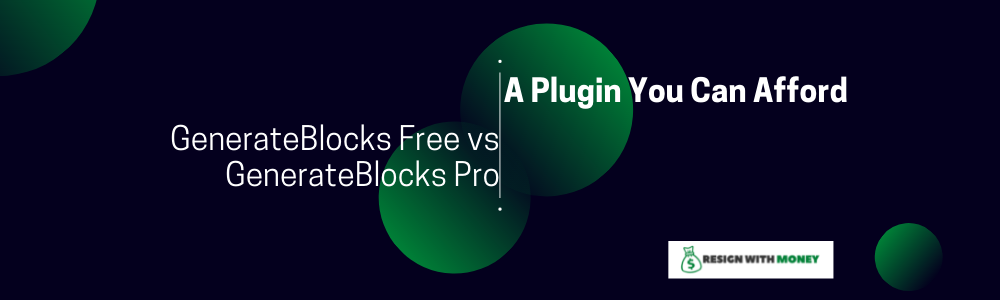 GenerateBlocks Free vs GenerateBlocks Pro feature