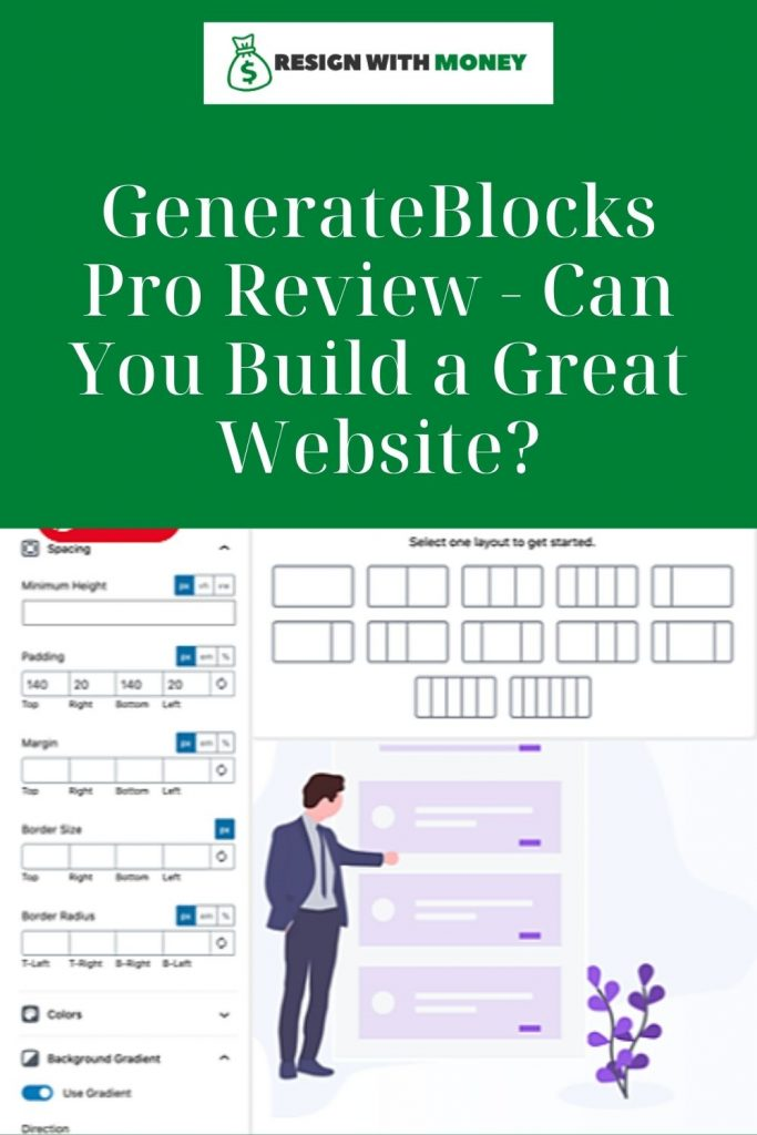 GenerateBlocks Pro Review Can You Build a Great Website pin