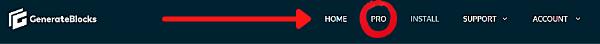 navigation pro How to Install GenerateBlocks on Your Website