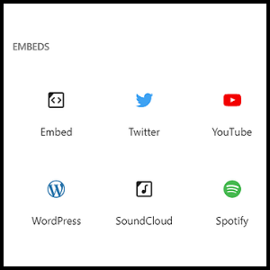 embeded 1 how to use the wordpress block editor