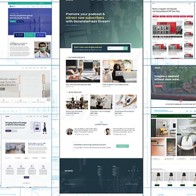generatepress premium review site library
