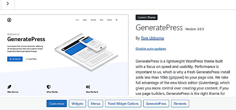 GeneratePress Free vs GeneratePress Premium image