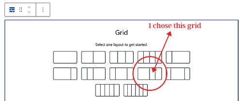 choose grid GenerateBlocks Pro Review