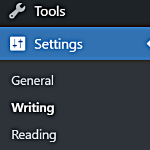 settings to switch