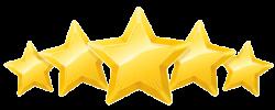 5 STAR RATING YELLOW